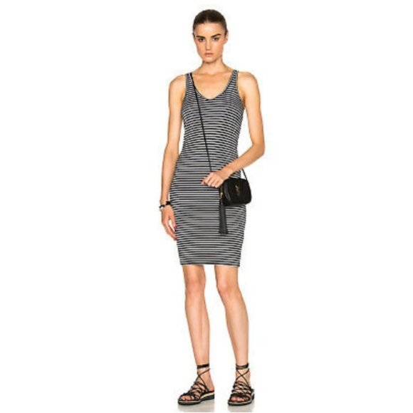 ATM Anthony Thomas Melillo Dresses & Skirts - ATM Anthony Melilla Striped Wrestler Tank dress
